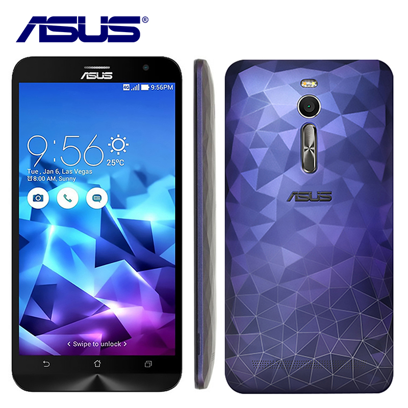 NEW Asus ZenFone 2 Deluxe ZE551ML Mobile phone Android 5.0 Intel Z3580 Quad Core 5.5 inch FHD 4GB RAM 32GB ROM 4G LTE smartphone