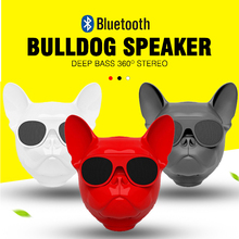 Big Bluetooth Speaker Jarre AEROBULL Bulldog Nano Dog Wireless Speakers Portable Stereo Subwoofer Handsfree MP3 Music Player xiaomi mi bluetooth speaker english version stereo wireless mini portable bluetooth speakers music mp3 player support handsfree