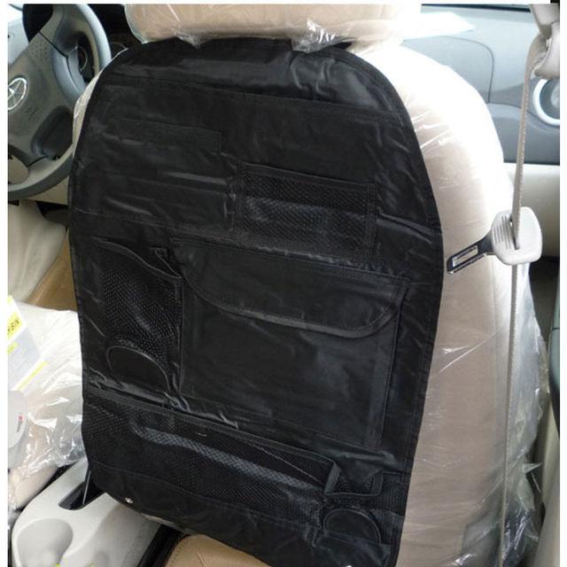 Truck Seat Organizer >> 1 Pc Car Truck Multi Pocket Beige Hanger Back Seat Organizer Travel