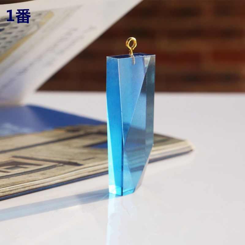 شريط شفاف مربع مكعبة سيليكون قالب خاص للراتنج زهرة حقيقية لتقوم بها بنفسك الشعر صنع المجوهرات قالب قوالب راتنجات الايبوكسي