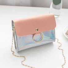Handbags for women 2019 Women Fashion Sequins Cover Cross body Bag Shoulder Bag Coin Phone Bag Cover leisure pack leisure straw and sequins design shoulder bag for women