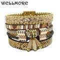 Зима Кожаный браслет 5 цвета 3 размер змеиной форма шарм браслеты для женщин Рождественский подарок wrap браслеты оптом