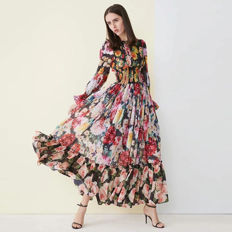 long casual chiffon dress dress