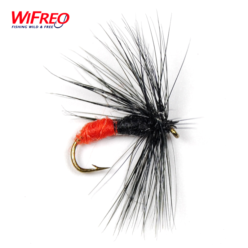 10PCS Hard Body Red with Black Ant Fly Wet Fly Fishing Flies # 10 Wifreo little books black ant sb with cd rom