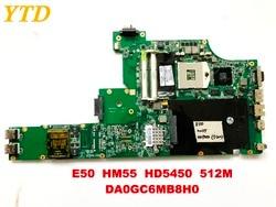 Oryginalny dla Lenovo E50 HM55 HD5450 512M DA0GC6MB8H0 płyty głównej laptopa testowane dobry darmowa wysyłka