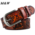 Men's Belts Leisure Style Dragon Pattern Belt Cinto Vintage Mens Luxury Real Leather Buckle Belts For Men Hot Casual Designer