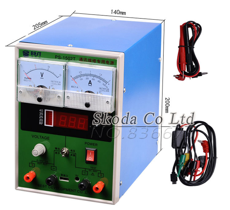 BEST 1502T DC power supply 15V 2A short circuit protection voltage testing for mobilephone repair Adjustable repair power supply cps 6011 60v 11a digital adjustable dc power supply laboratory power supply cps6011
