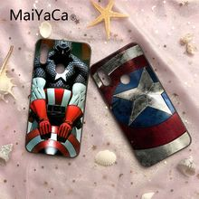 MaiYaCa Capitan America Soft Silicone TPU Cell Cases For Redmi Note 4 5 Redmi 5 5plus Xiaomi 6 6plus 6X 8 8SE MI Note2 3