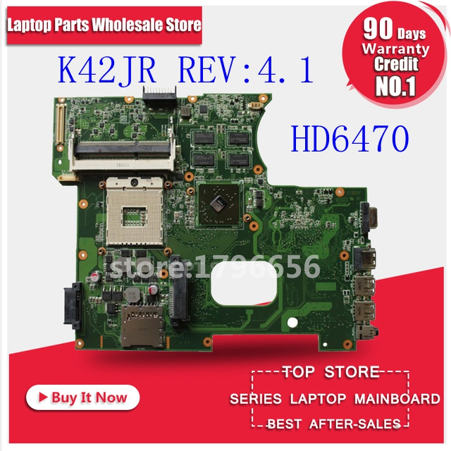 NEW!!!USB Board+K42JR REV 4.1 HD6470 512M For ASUS X42J K42J K42JR K42JZ K42JB K42JY K42JE Laptop Motherboard Mainboard DDR3