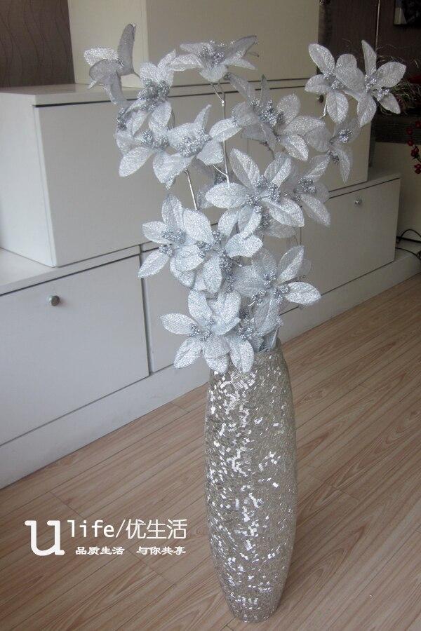 online kaufen gro handel silber bodenvase aus china silber bodenvase gro h ndler. Black Bedroom Furniture Sets. Home Design Ideas