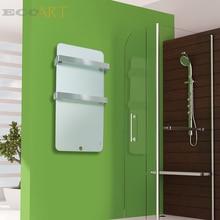 Французский Электрический инфракрасный обогреватель панель ванная комната радиатор с двойной полотенца рельсы 600 Вт