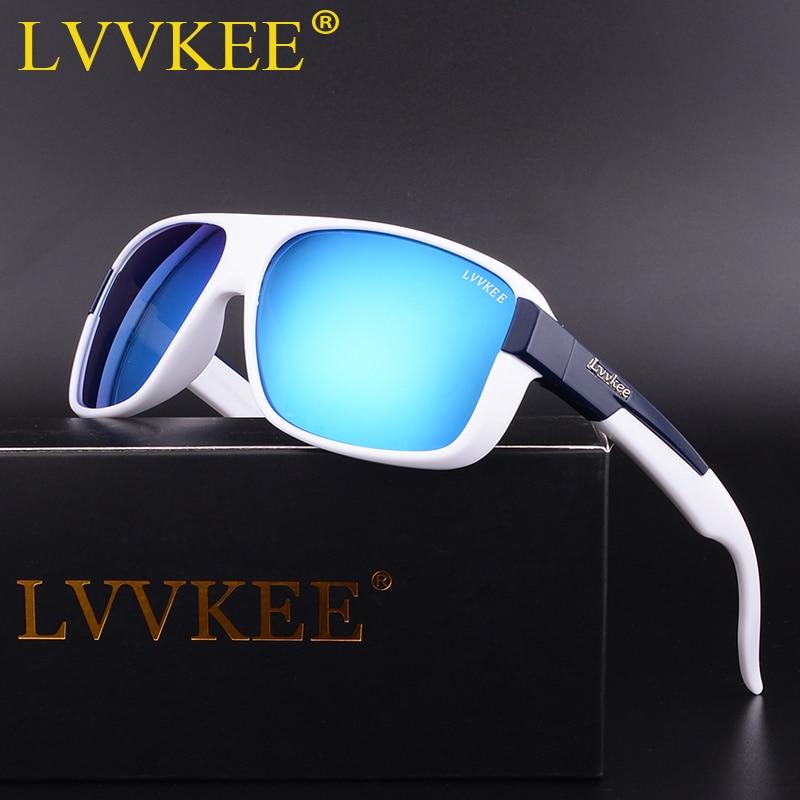 LVVKEE Nuevos hombres gafas de sol polarizadas de conducción de - Accesorios para la ropa