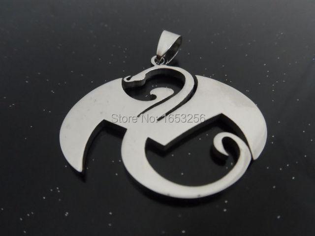 Lot 5pcs In Bulk Silver Stainless Steel Strange Music Dragon Charms