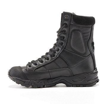 Mens Anti-slippery Military Hiking Boots Combat Army Mountain Climbing Boots Wearable Breathable Tactical Shoes AA12012