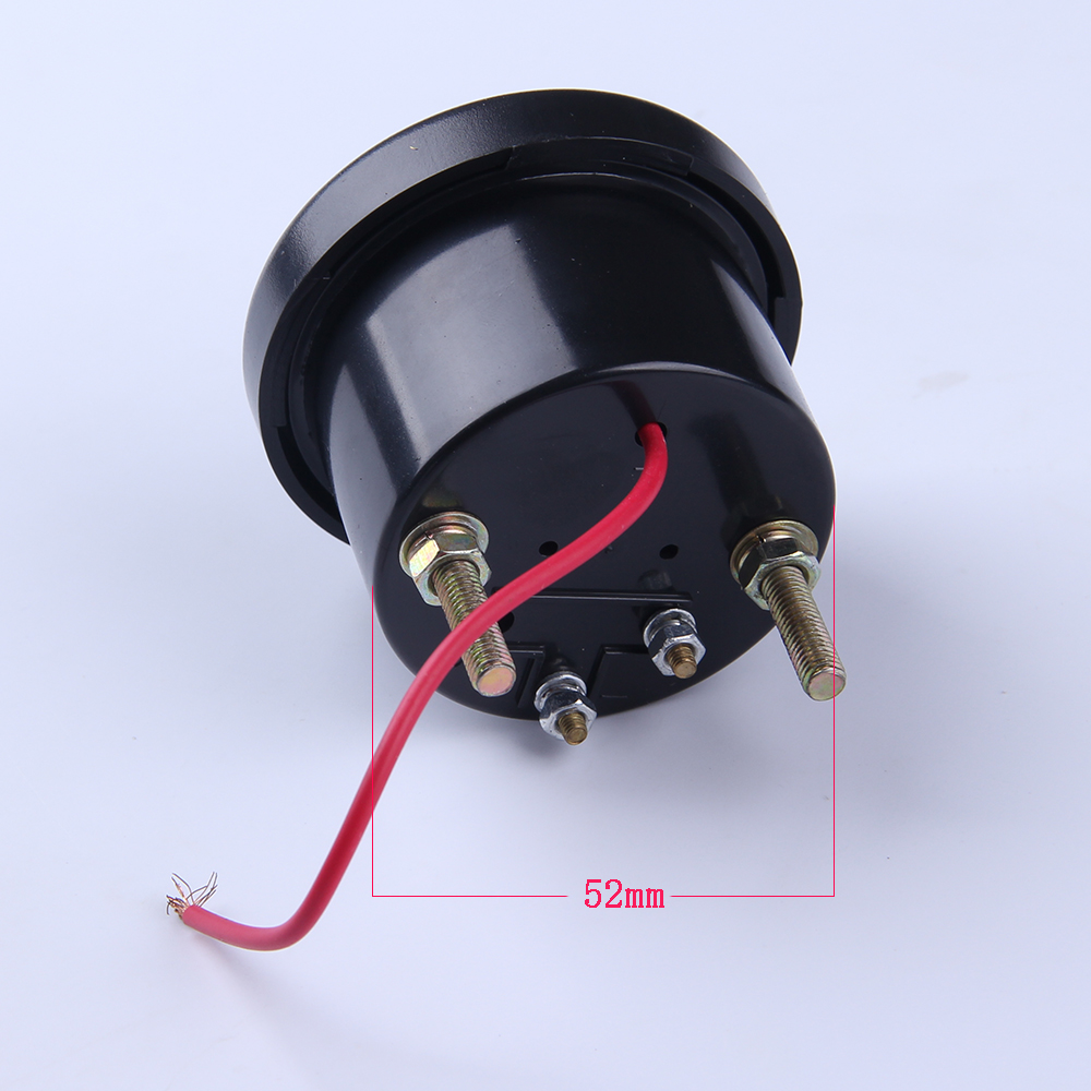 Swell Aliexpress Com Buy 12V Vdo Voltage Gauge For Genset Meter Size Wiring Cloud Strefoxcilixyz