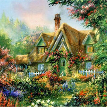 DIY Diamond painting cross stitch Painting Crafts Embroidery Decoration Gifts 5D Mosaic Cabin