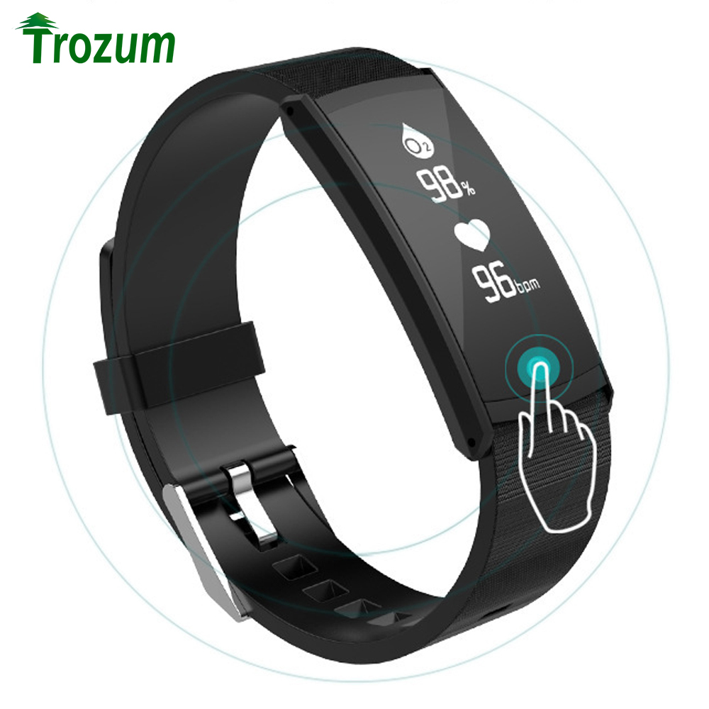 TROZUM IP68 Profession Waterproof S6 Smart bracelet Bluetooth Smartbands Sports Wristbands Band for android iOS PHONE