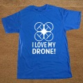 Brand Clothing I Love My Drone Funny Humorous T Shirt Tshirt Men Cotton Short Sleeve T-shirt Top Tees Camiseta
