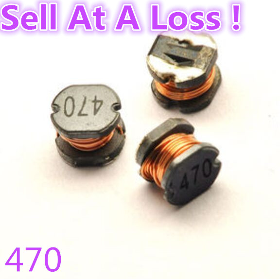 25pcs/lot M64B CD54 47UH SMD Power Inductor 470 Electronic Components Sell At A Loss USA Belarus Ukraine