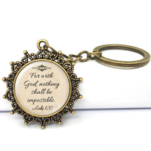 Christian Gifts Keyring Bible Verses