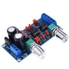 NEUE NE5532 Low Pass Filter Bord Subwoofer Volumen Control Board Verstärker Modul 9 15 V