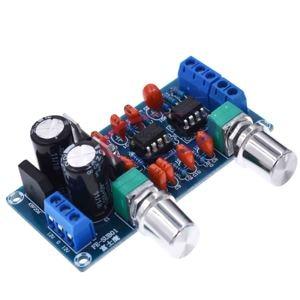 Image 1 - Nouveau NE5532 carte de filtrage passe bas caisson de basses carte de contrôle du Volume amplificateur Module 9 15 V