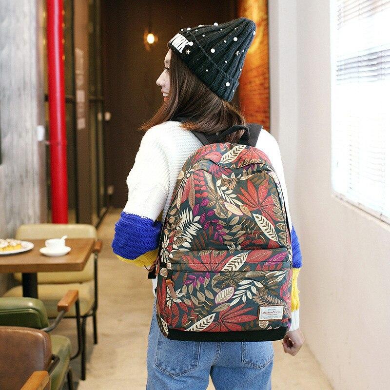Новый женский рюкзак школьный большой Ёмкость ноутбук рюкзак для подростков девочек внешний зарядка через usb рюкзак Для женщин Дорожная су...