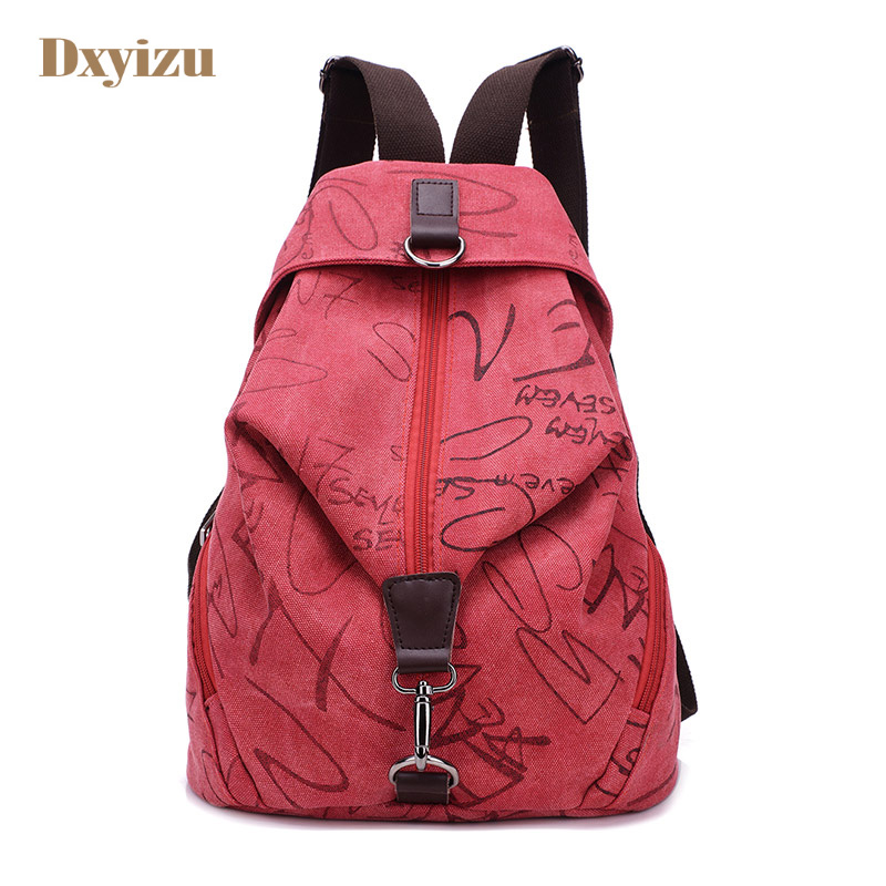 Fashion personality canvas couple Backpack Canvas trend bags Lovers School bags for girls backpack for male Urban travel bag smartbuy urban trend