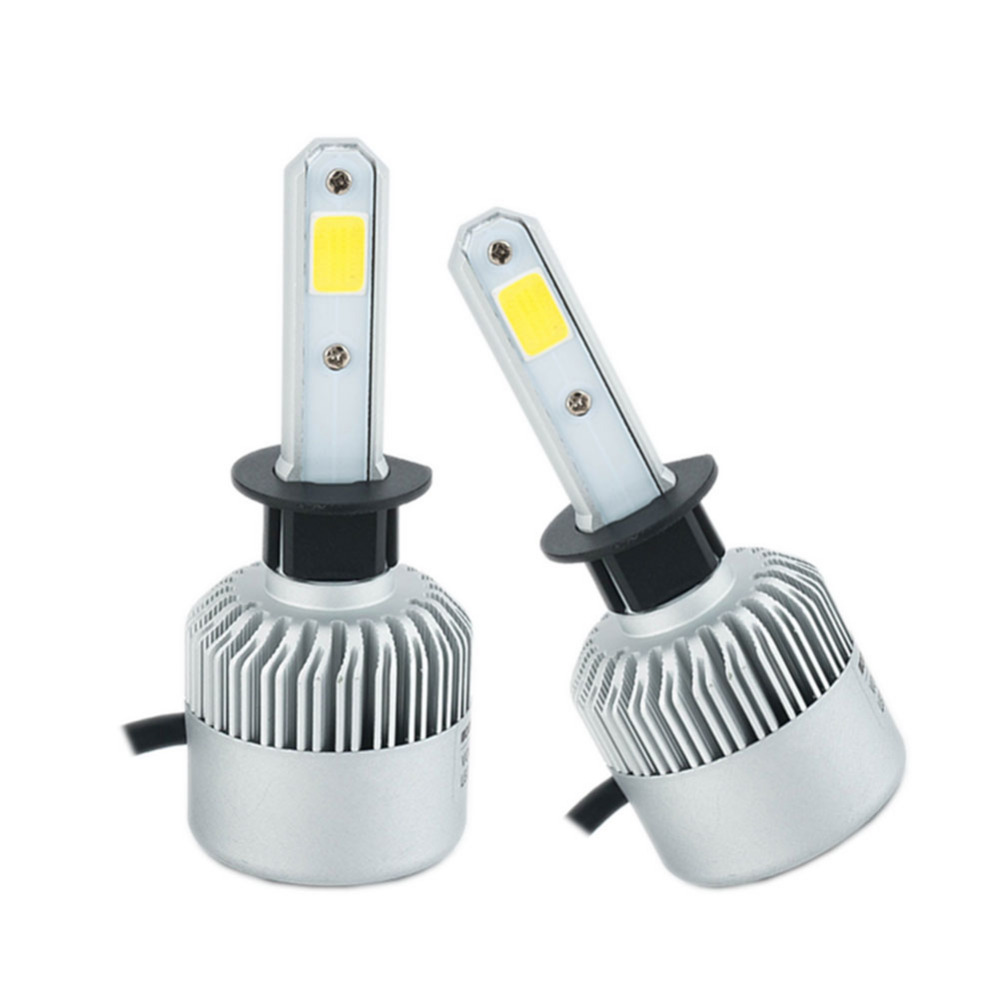 72W/pair H1 Led Bulbs 8000lm Car LED Headlight lamp 6500k Auto - Car Lights - Photo 2