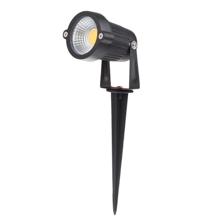 IP65 7 w CONDUZIU a Lâmpada Do Gramado Impermeável Ao Ar Livre Iluminação Verde Amarelo Vermelho Azul Branco 7 w LED Pico Luz Do Gramado para Jardim AC85-265V