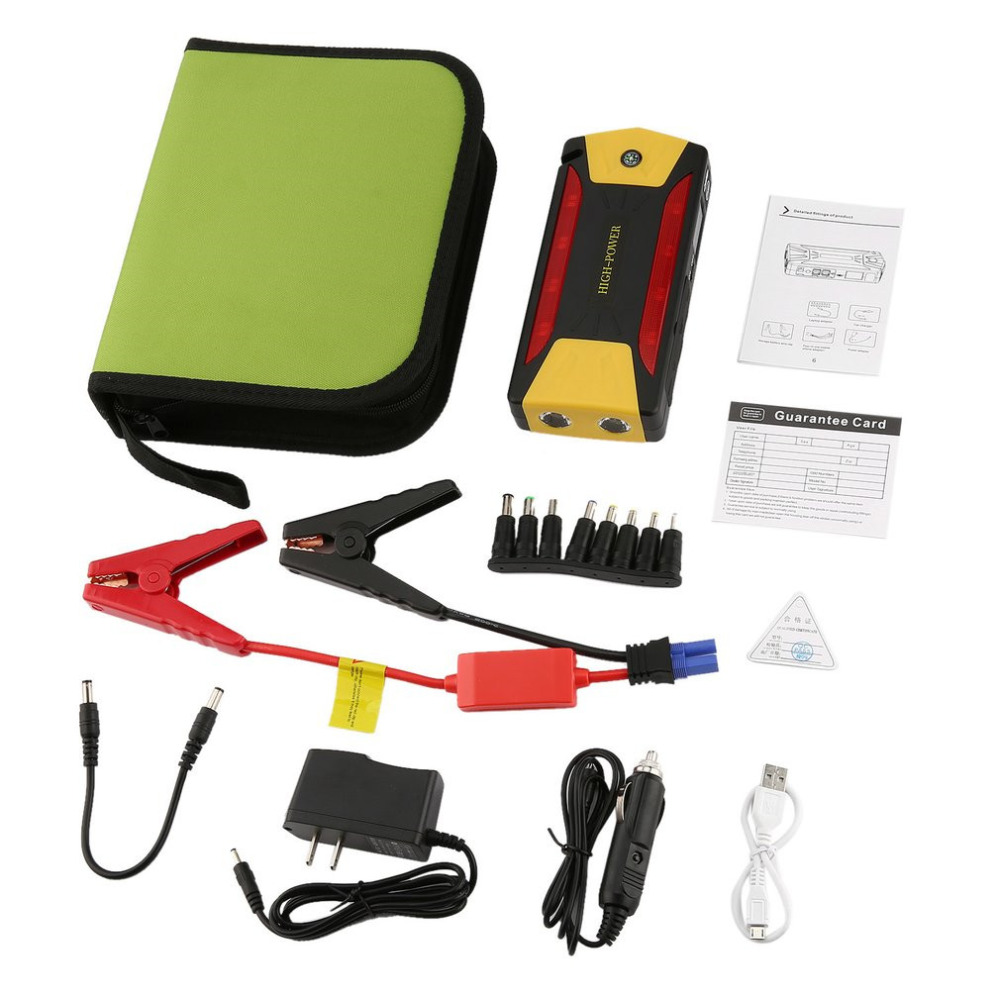 BLY-16 Multifunctional 82800/68800 mAh Large Capacity Portable Vehicle Power Car Jump Starter Mini Emergency Booster Power Bank