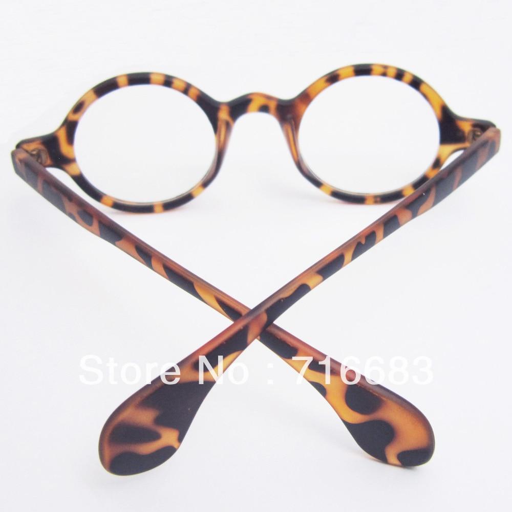 a5159e0047 10 pieces Lot Harry Potter Small Round Vintage Retro Leopard Tortoise  Eyeglass Frame Frames Optical Glasses Spectacles Eyewear