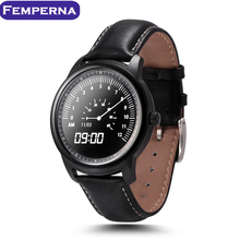 Mejor Ver! lem1 smart watch full hd ips pantalla smartwatch impermeable usable dispositivos tracker para samsung iphone android