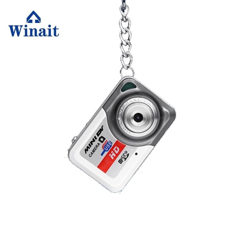 Winait HD 1280*960 digital mini key chain camera, video and photo camcorder support 32GB TF card small camera free shipping