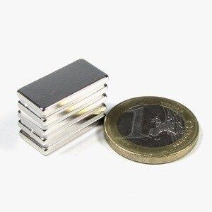 5pcs 20*10*2 20x10x2 craft model strong industrial rare earth ndfeb block magnet neo neodymium n52 magnets 20 x 10 x2 mm earth 2 vol 5