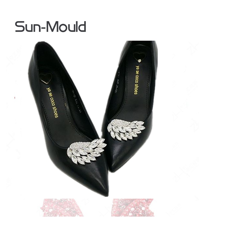 1pair/lot woman shoes Flower Shoe Buckle charms clip Women High Heels Wedding Bride Silver Crystal Shoes Jewelry decoration fashion crystal rhinestone shoe flower charms clip gem women s shoes accessories wedding shoes decoration 1pair free shipping