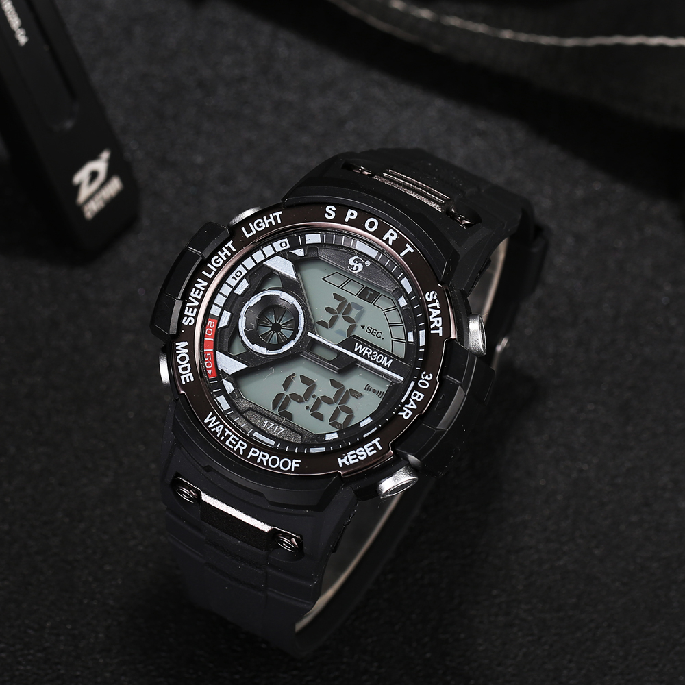 Sport Watches for Men Waterproof Digital Watch LED Men's Wristwatch Clock Man montre homme Big Men Watches Military XR3024