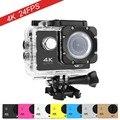 Goldfox marca estilo ultra hd 4 k h9 câmera ação wi-fi 1080 P Esporte DV 2.0 LCD 130D lente ir à prova d' água pro câmera