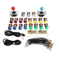 For Aracde Game Machine Kits DIY Kit Parts With USB Encoder To PC 5Pin Joysticks 19x