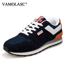 VAMOLASC New Men's Sport Running Shoes Breathable Lightweight Outdoor Sneakers