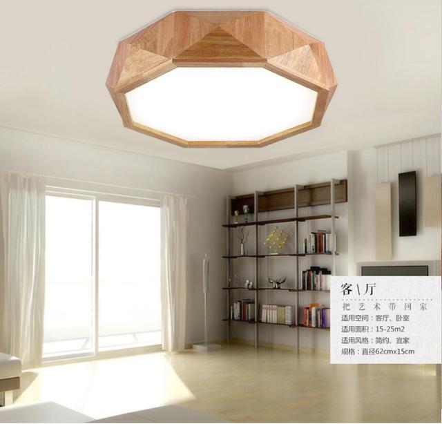 Us 1690 Z Litego Drewna Dziennika Japoński Lampa Sufitowa Drewniane Lampa Do Salonu Ciepłe Drewniana Lampa Osobowość Twórcza Sypialnia Lampa