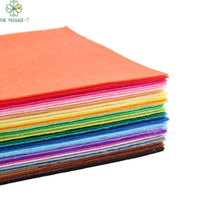 New Polyester Felt Fabric Cloth DIY Handmade Sewing Home Decor Material Thickness 1mm Mix 40 Colors