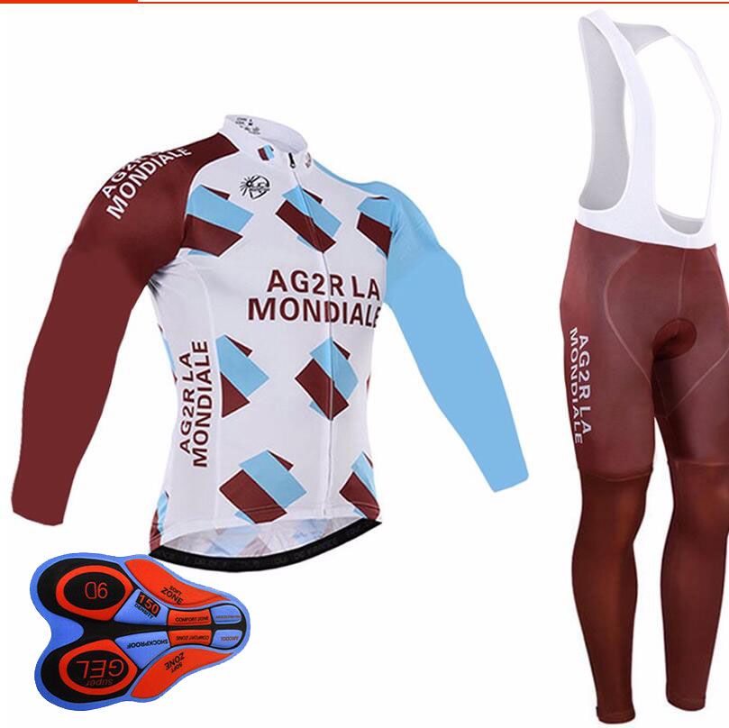 Winter Thermal Fleece Pro Team Cycling Jersey Set Long Sleeve Bicycle Bike Clothing Cycle Bib Pantalones Ropa Ciclismo Invierno veobike cycling jersey ciclismo 2017 pro team 8 style men s winter long sleeve bike set mtb bicycle wear ropa ciclismo invierno