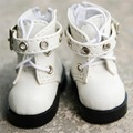 [Wamami] 46 # Белый 1/6 SD DOD AOD БЖД Dollfie Синтетическая Кожа Сапоги/Обувь