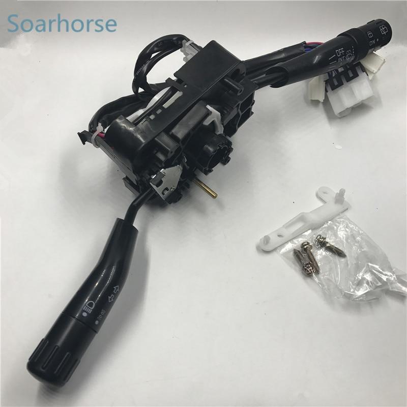 Soarhorse Combination Switch indicator turn signal switch headlight wiper switch For Mitsubishi Pajero montero MK2 1990-2004