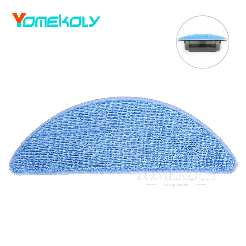 1PC Replacement Mopping Cloth for Ecovacs CR250LE Robotic Vacuum Cleaner Accessories Cleaning Mop Cloths 1 piece washable reusable replacement microfiber mopping cloth for haier robot vacuum cleaner t320 mop cloths 284 1 163 6mm