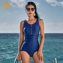 361 Swimwear Women Hot Spring Solid Thong One Piece Swimsuit Bathing Suit Sexy Bikini Push Up Sport Pool Swimming Suits