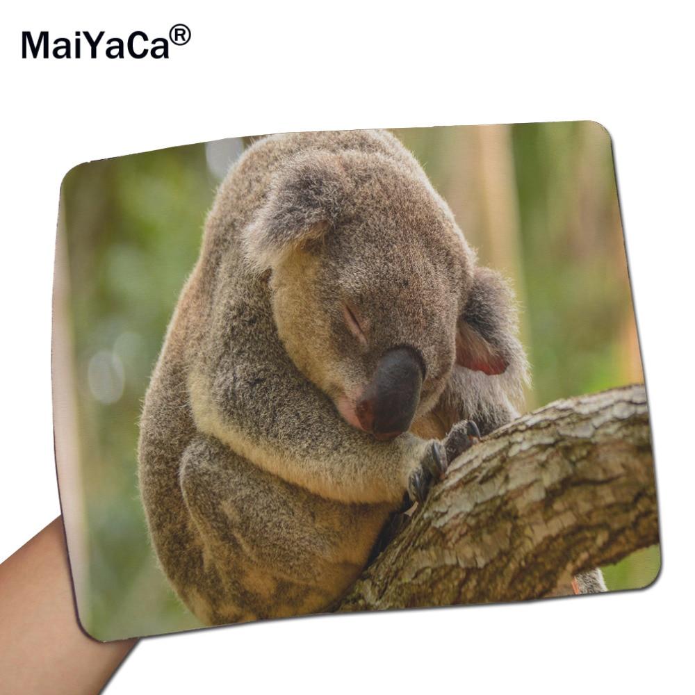 9dae0cae1a45c2 MaiYaCa Slapen Koala Gaming Muis Muizen Mat Muismat 18 22 cm en 25 29 cm