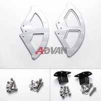 New CNC SILVER FRONT DISC GUARD For BMW F800GS ADV F700GS F650GS