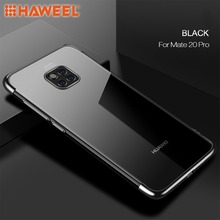 HAWEEL Phone Case for Huawei Mate 20 Pro Ultra-thin Electroplating Soft TPU Cover Shell Guard